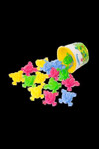 Sammakkopeli, 12 pastelliväristä sammakkoa