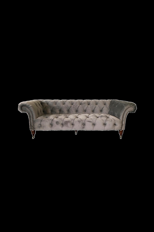 Sohva, jossa päällystetyt napit