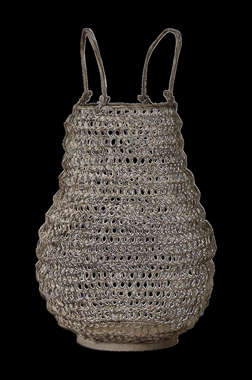 Ravel-kori/kynttilälyhty, korkeus 46 cm