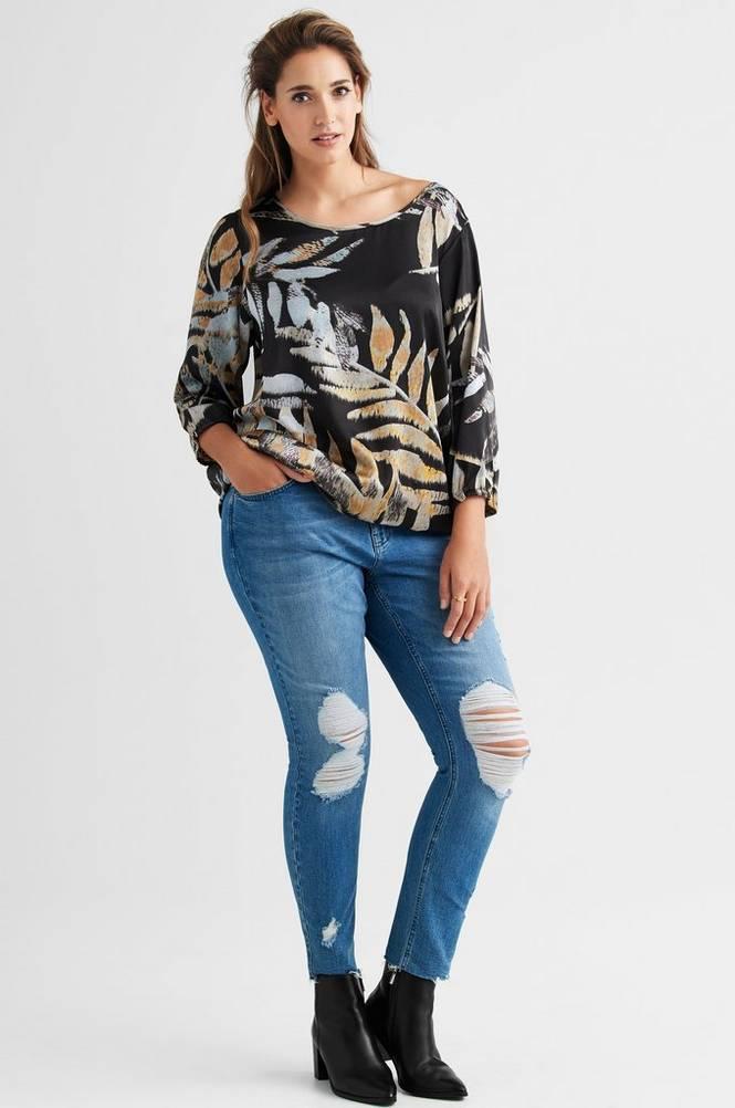 Zizzi Jeans Sanna Cropped Extra slim