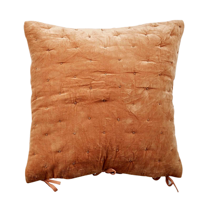 Bilde av Velvet Cushion Cover Quilted 50x50cm