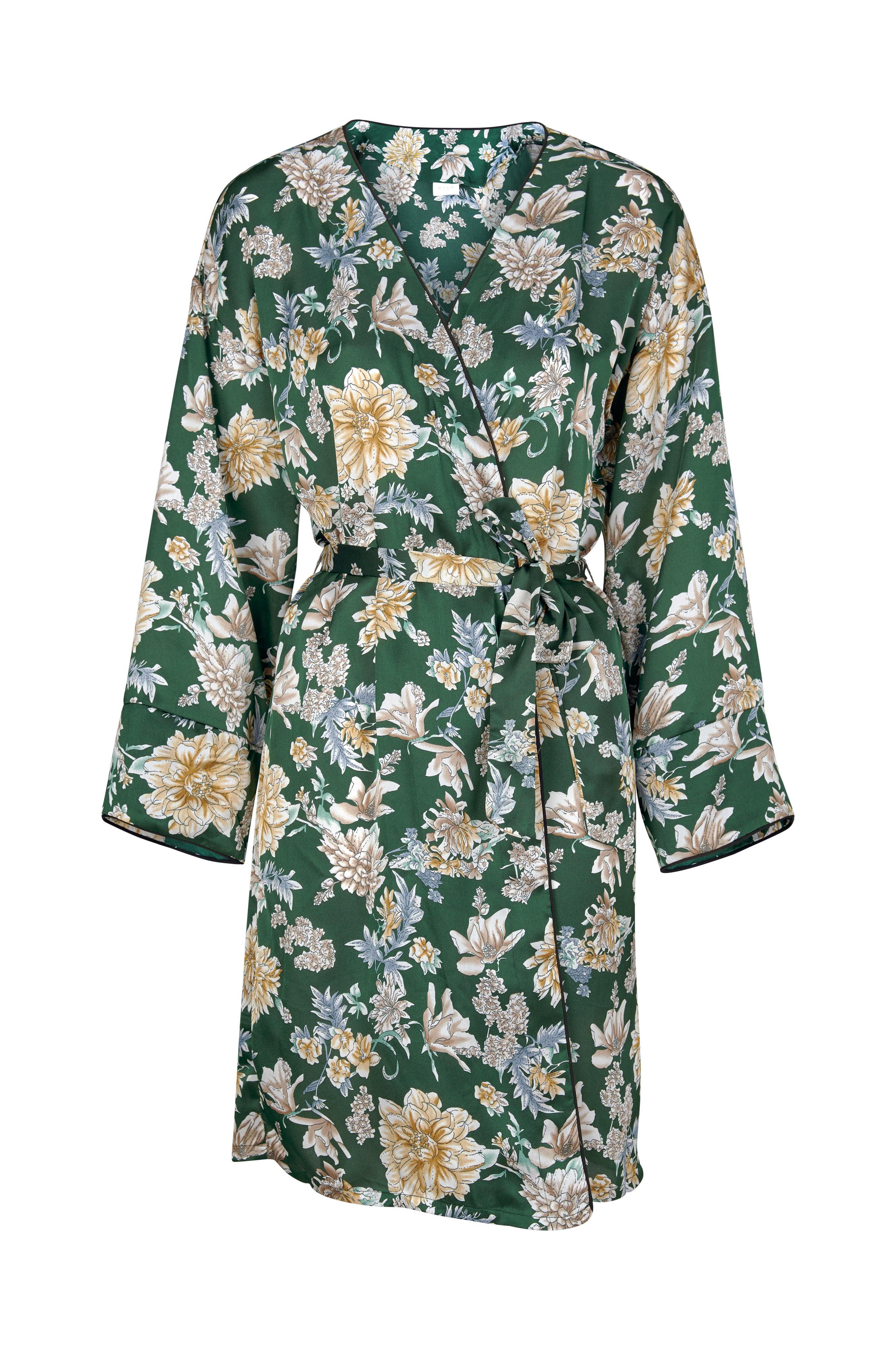 6f60b5cb9030 Vila Kjole viBarima Kimono - Grøn - Dame - Ellos.dk