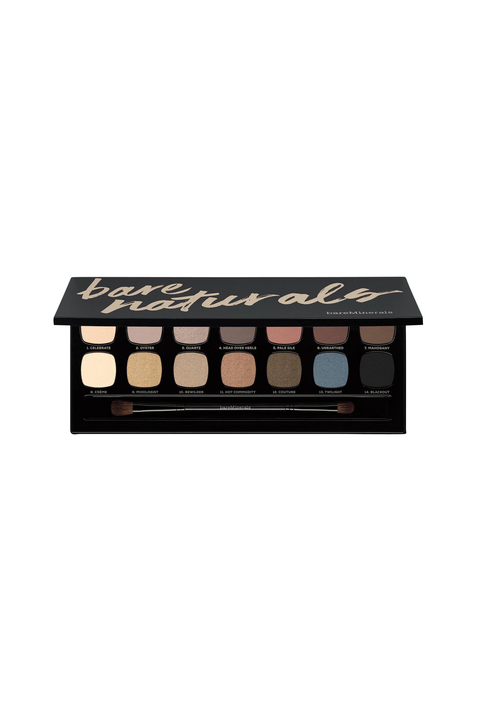 READY 14.0 Eyshadow Palette Bare Naturals