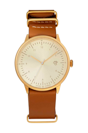 Harold-kello, kulta/ruskea