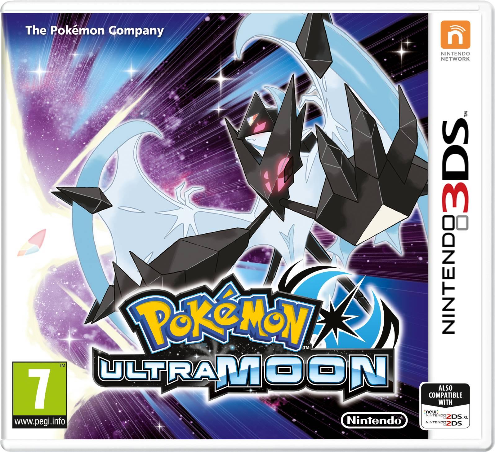 Pokémon Ultra Moon -peli 3DS