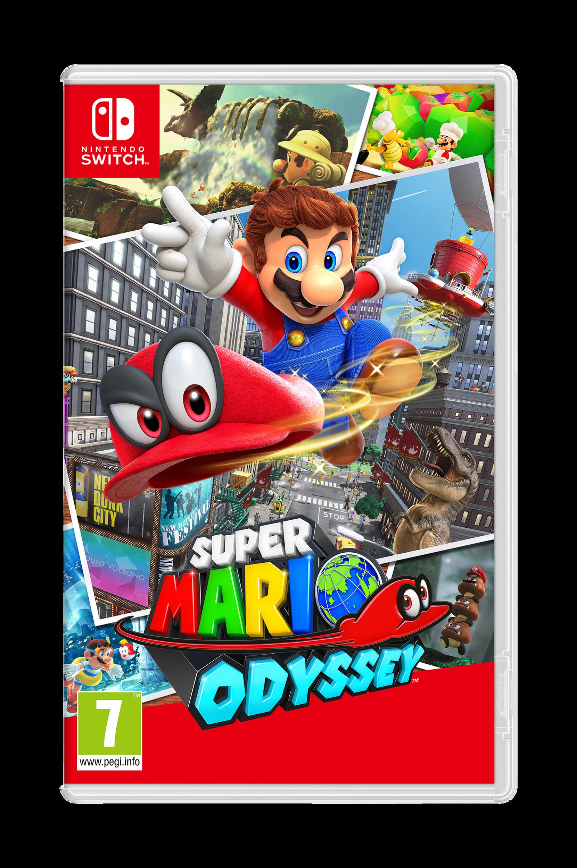 Super Mario Odyssey -peli Nintendo Switch