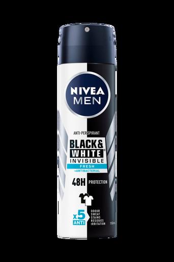 Deo Invisible Black&White Fresh Spray 150ml