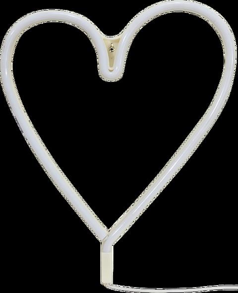 Vägglampa Heart LED