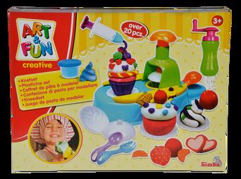 Art & Fun Cupcakes -muovailuvahasetti