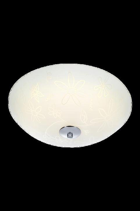 FLEUR Plafond LED 35 cm Vit/Krom