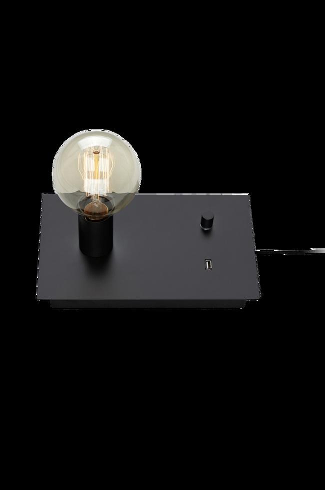 Bilde av LOAD Bordlampe USB Svart