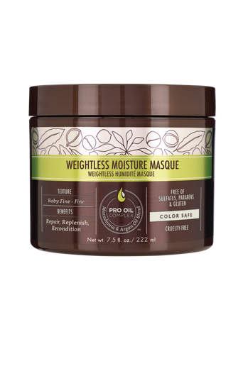 Professional Weightless Moisture Masque naamio, 236 ml