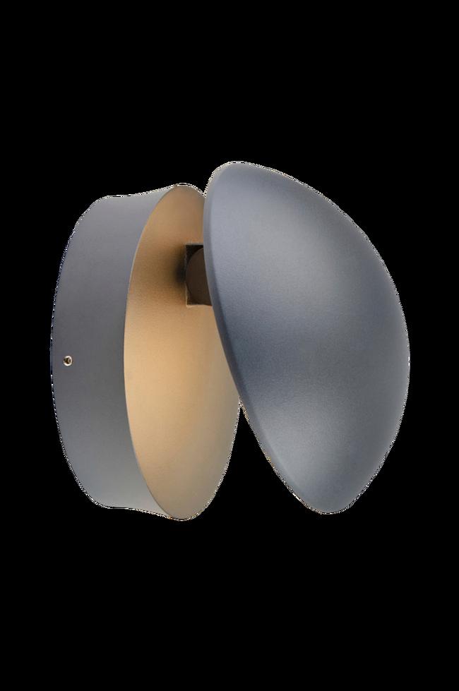 Bilde av BUGSY Vegglampe Mørk grå