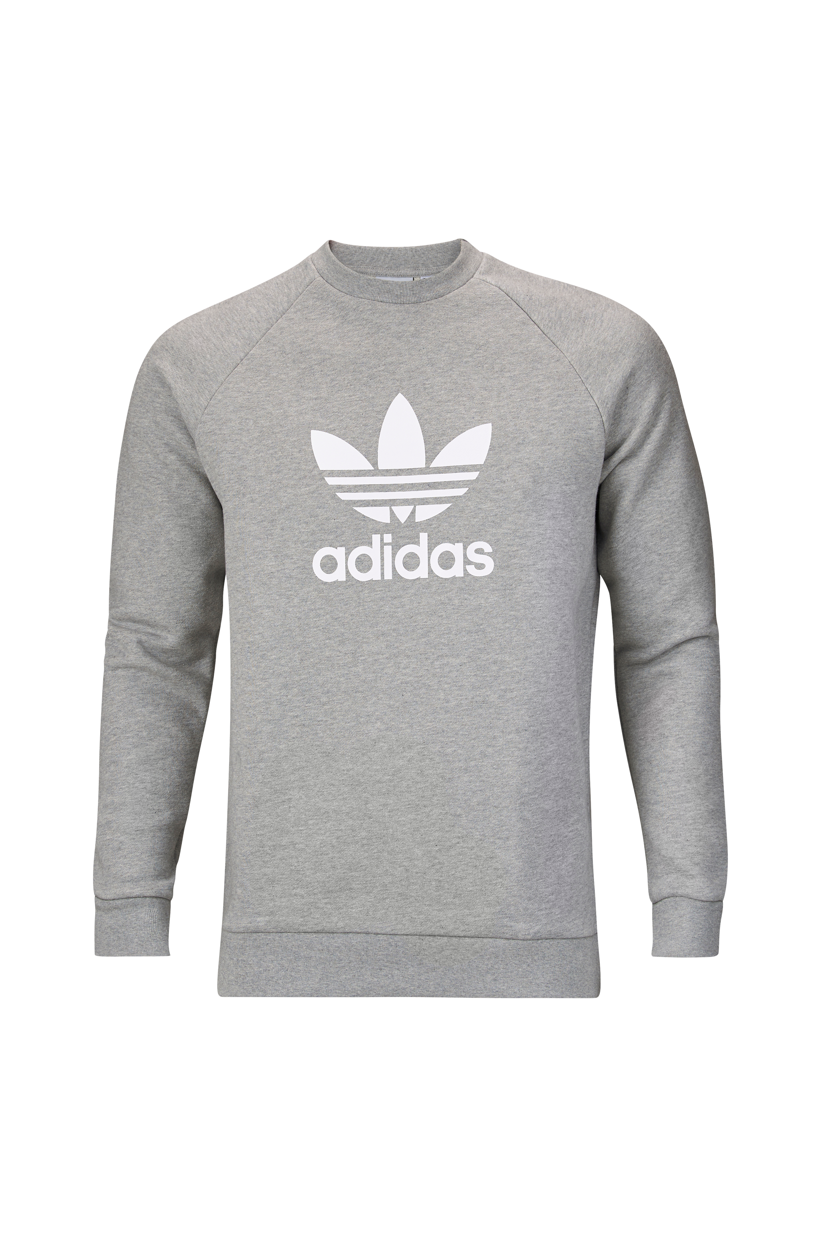 adidas originals Trefoil Hoodie Herre Medium Grey Heather