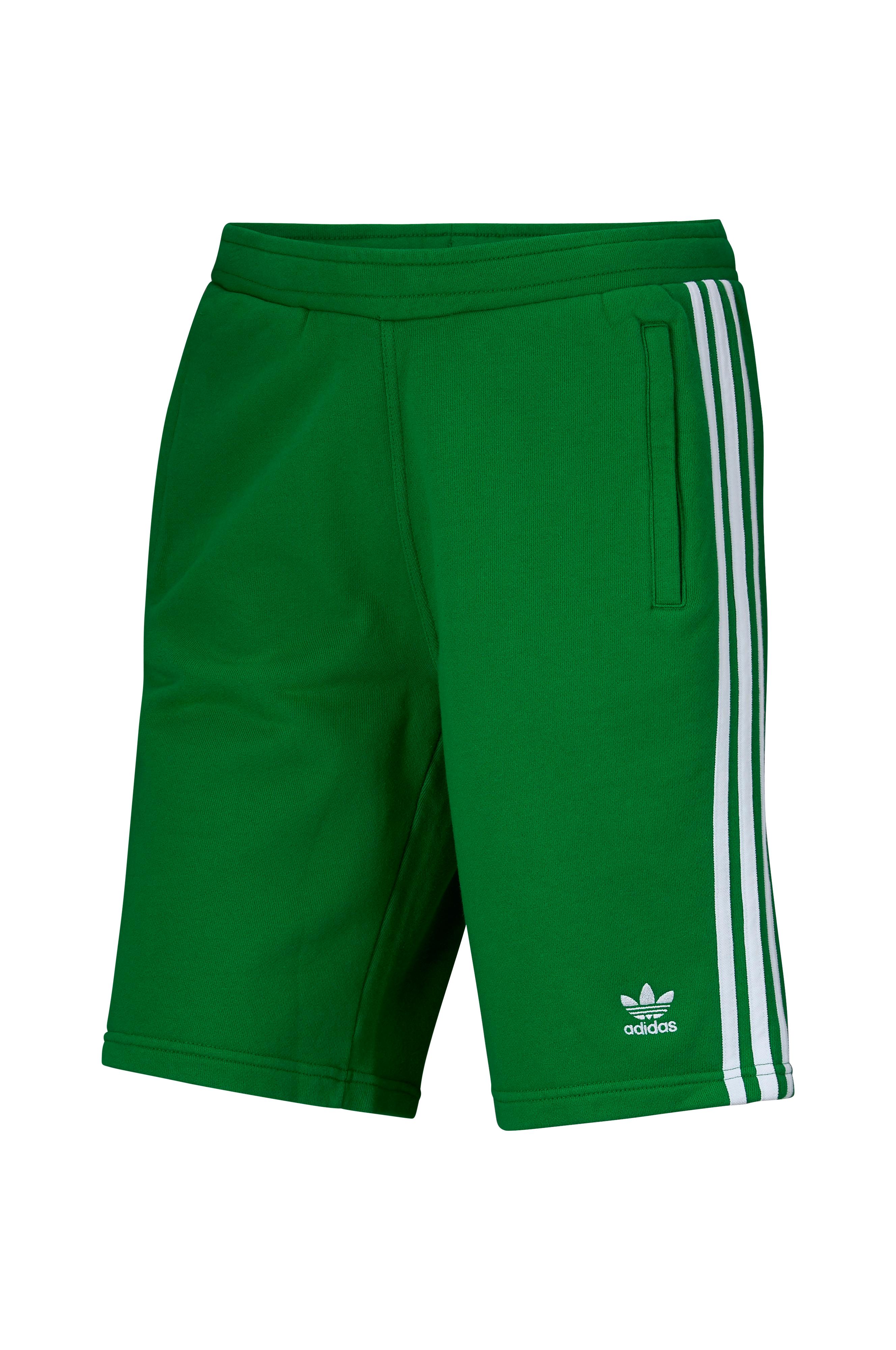 quality design 7587c db80b adidas Originals Shortsit, joissa 3-stripes-raidat - Vihreä - Miehet -  Ellos.fi