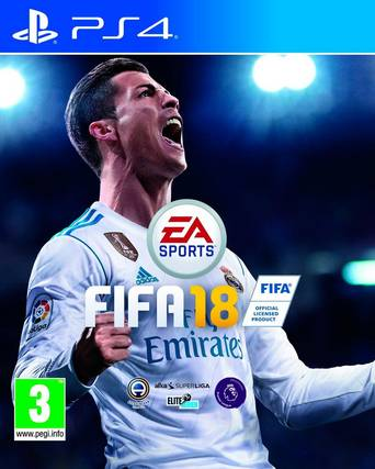 Fifa 18 -peli PS4-konsolille
