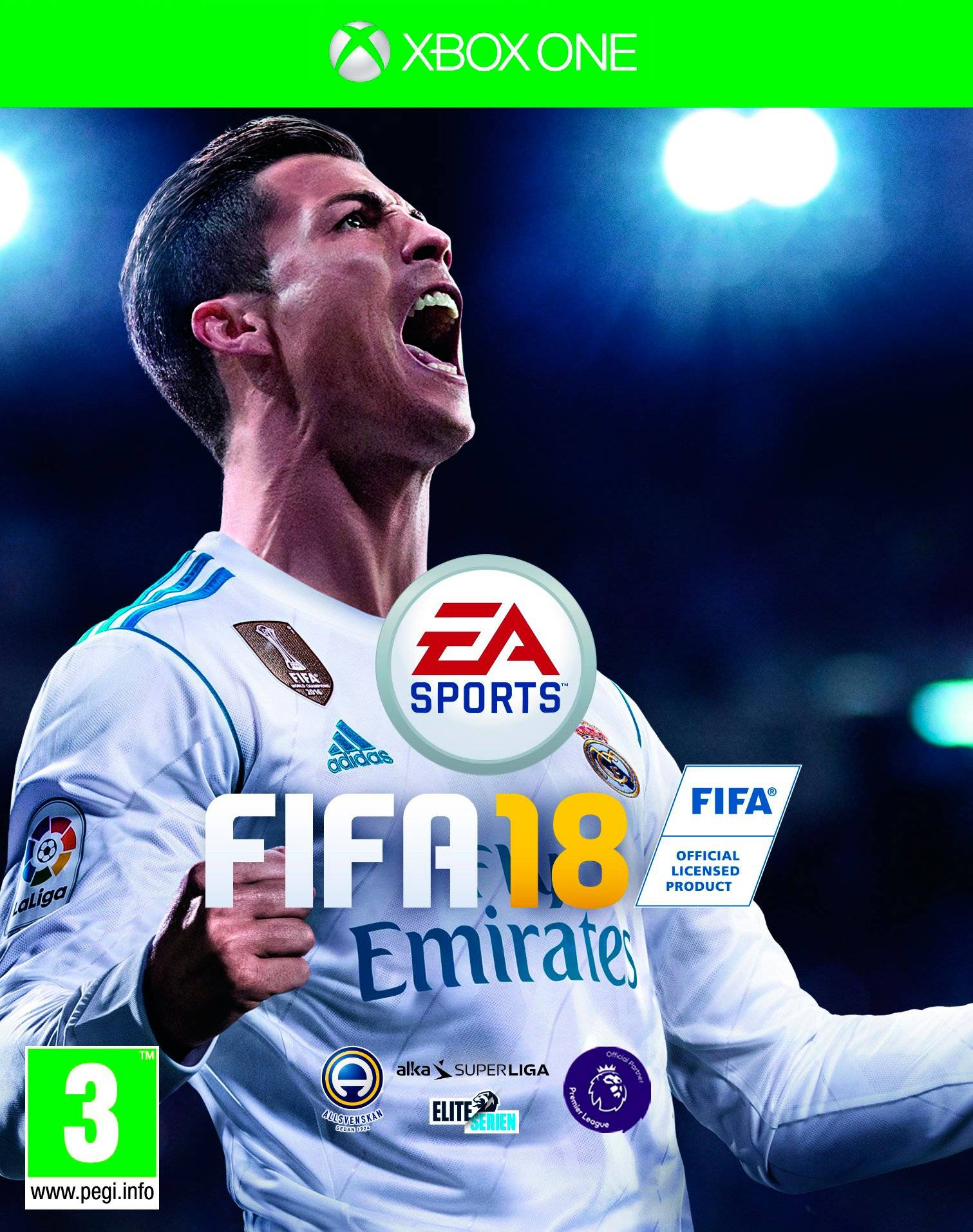 Fifa 18 Spel Xbox One -konsolille