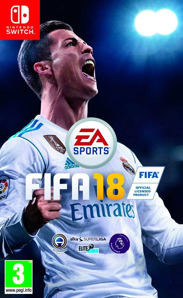 Fifa 18 Spel Nintendo Switch