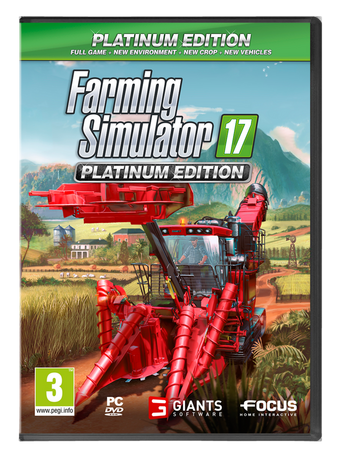 Farming Simulator 17 Platinum Edition -peli PC