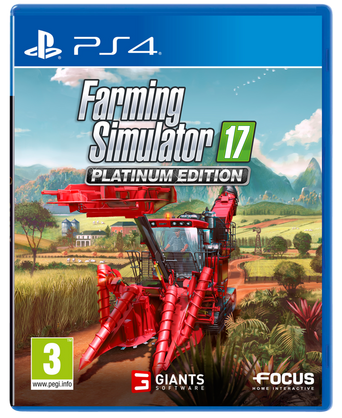 Farming Simulator 17 Platinum Edition -peli PS4
