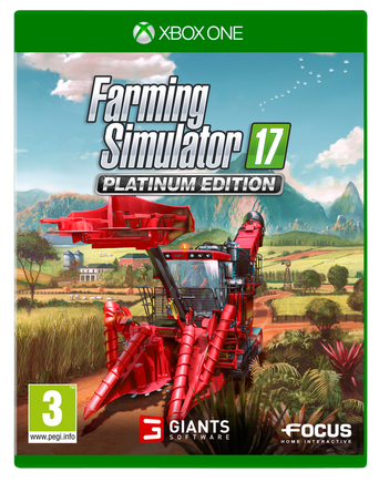 Farming Simulator 17 Platinum Edition -peli Xbox one