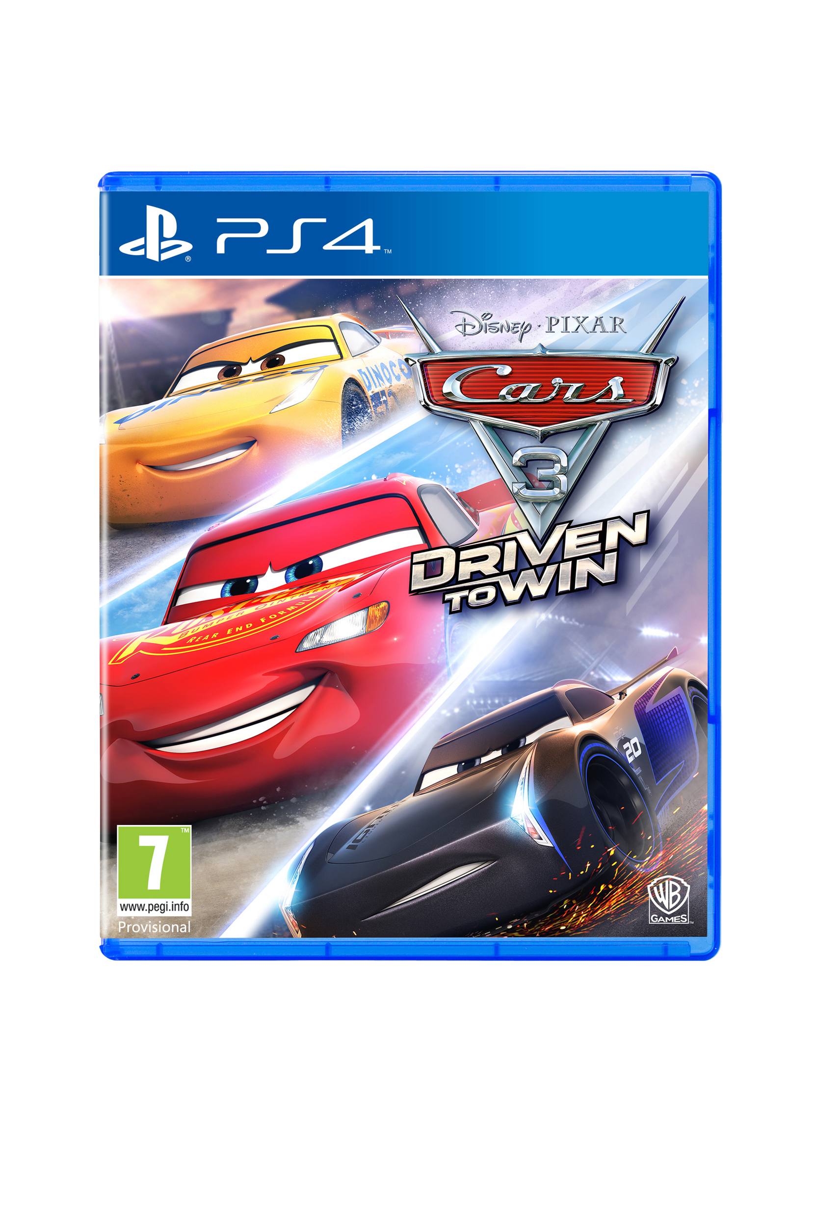 Autot 3 Driven T Win PS4 -peli