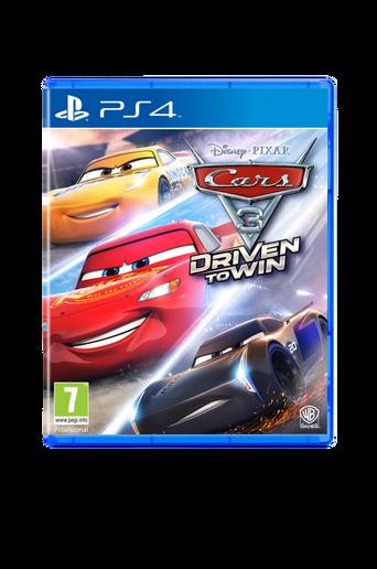Autot 3 Driven T Win PS4 -peli