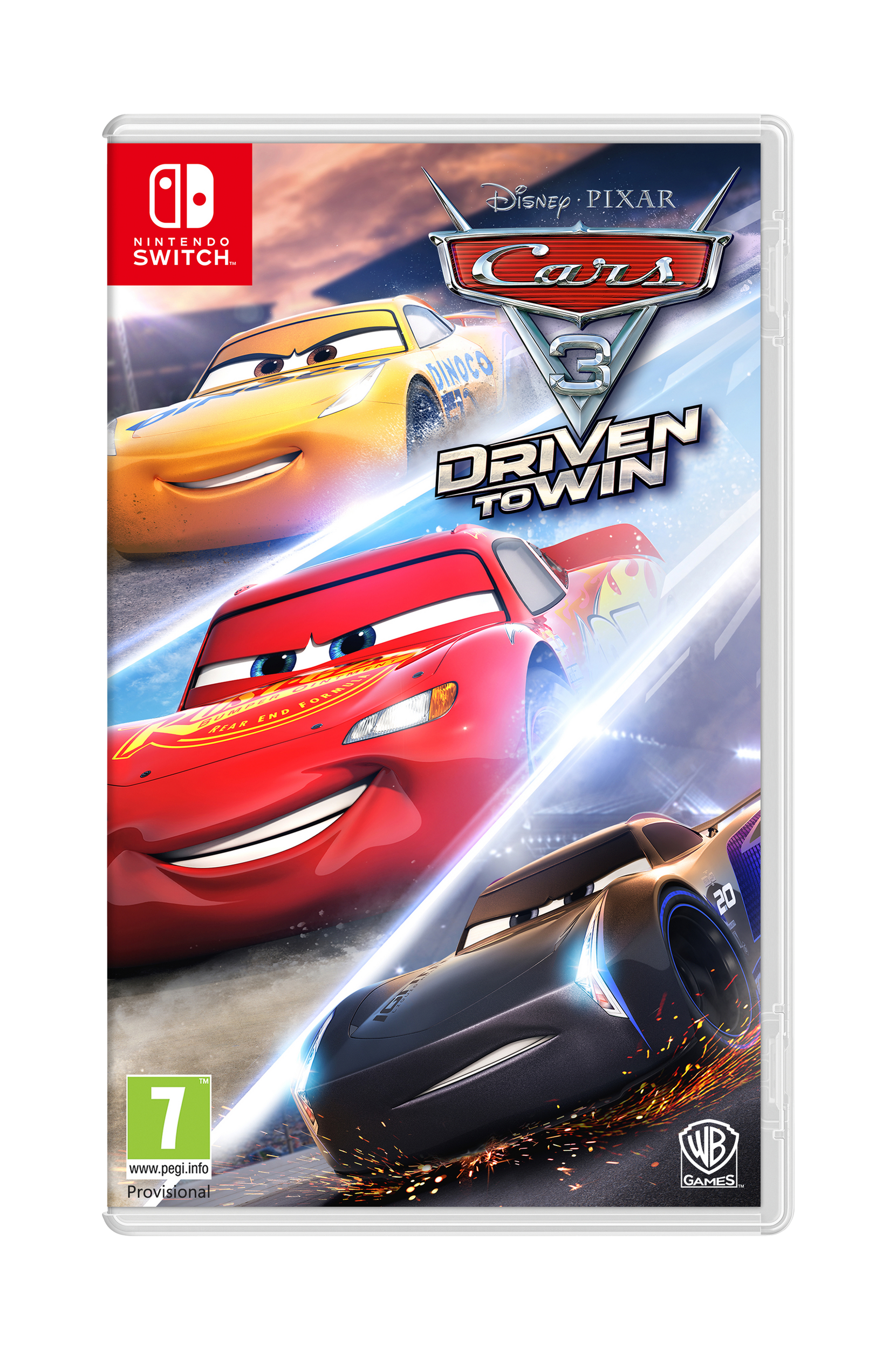Autot 3 Driven T Win Nintendo Switch -peli