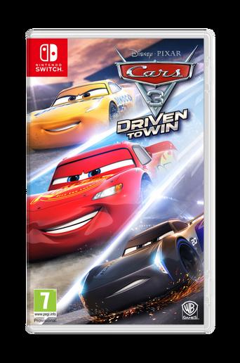 Autot 3 Driven T Win Nintendo Switch -peli