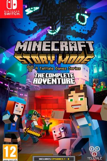 Minecraft: Story Mode The Complete Adventure Switch -peli