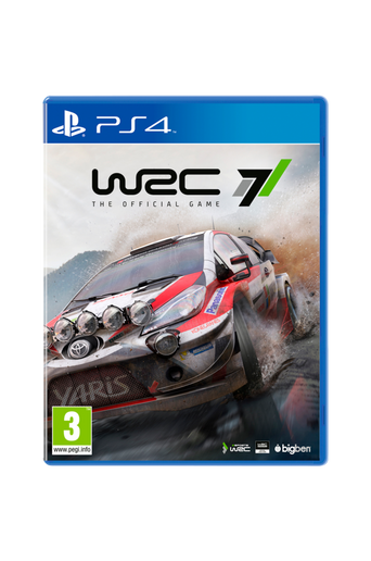 WRC 7 PS4 -peli