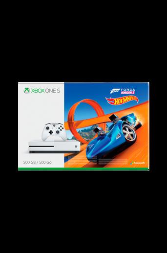 Xbox One 500GB ja Forza Horizon 3 + Hot Wheels