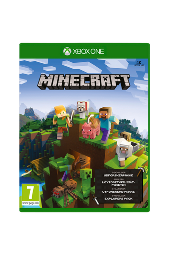 Minecraft Sunstream Xbox One -peli