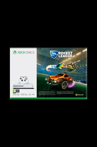 Xbox One 500GB -konsoli, Rocket League + 3 kuukauden Xbox Live Gold -jäsenyys