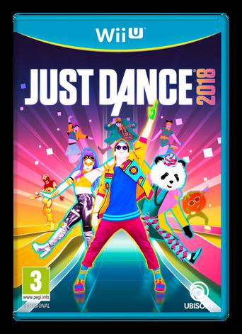Nintendo Wii U Just Dance 2018 -peli