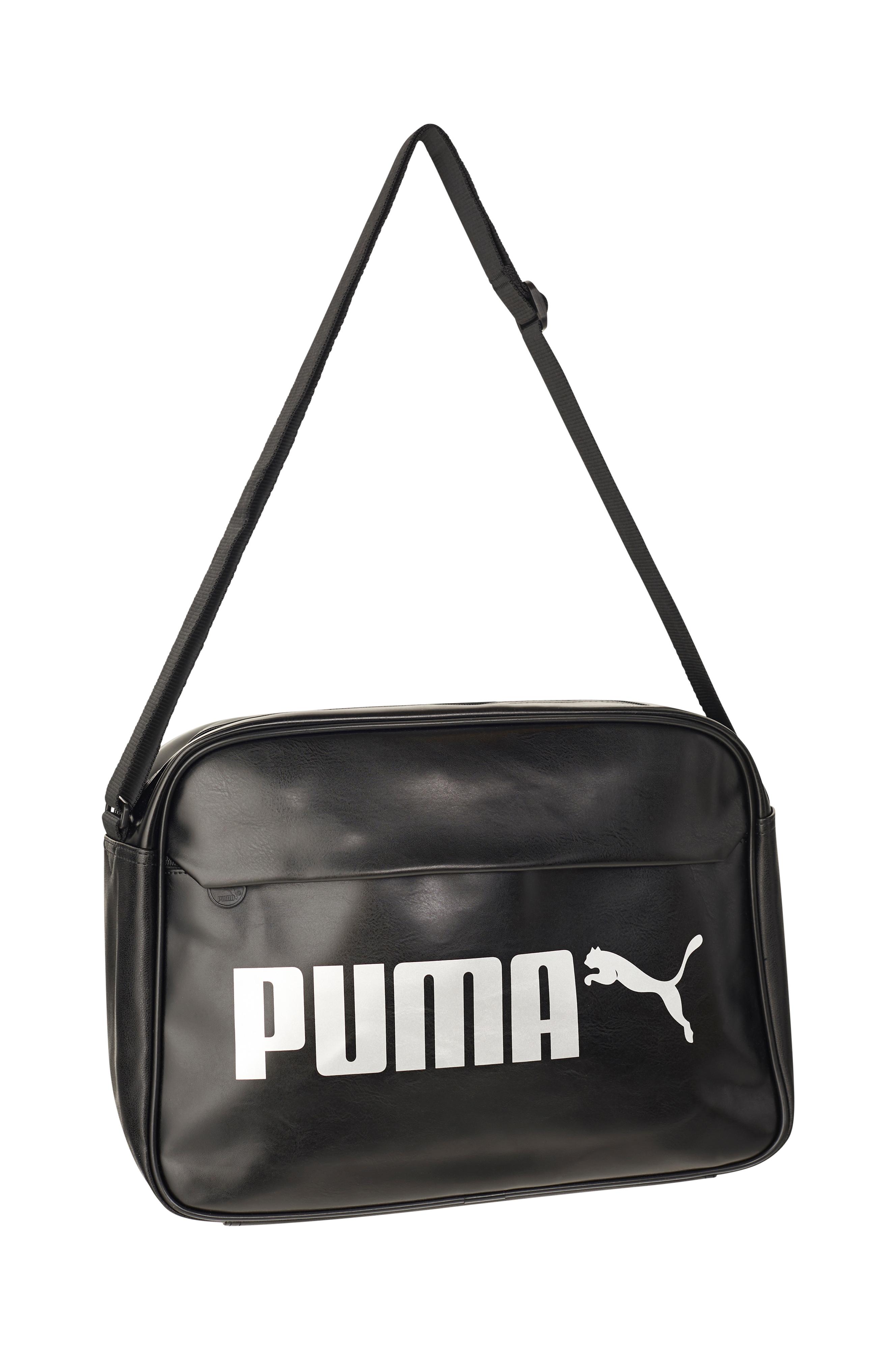 44843d5c0a1 Puma Väska Campus Reporter - Svart - Dam - Ellos.se