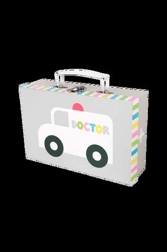 Harmaa lääkärinlaukku