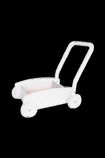Kävelyvaunu valkoinen/harmaa