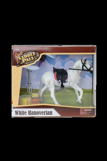 Hannoveranare-hevonen, valkoinen