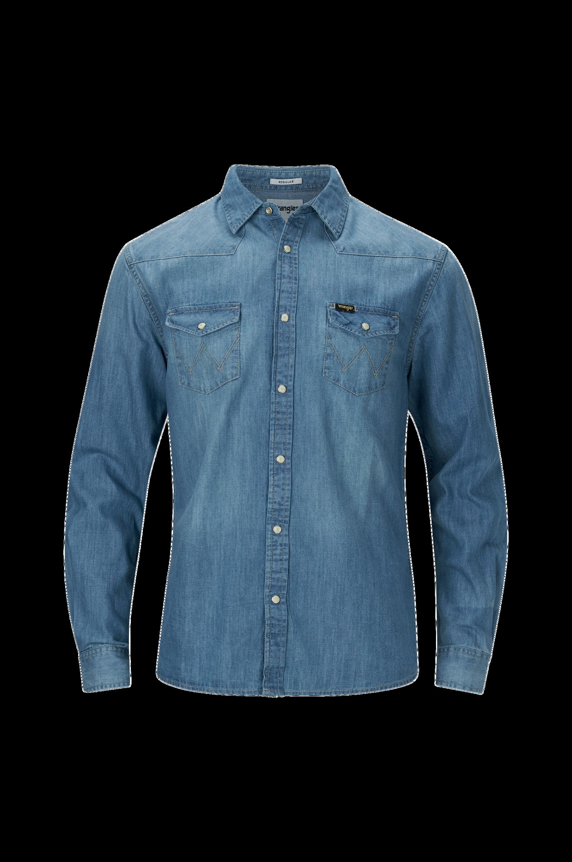 Western Denim Shirt -farkkupaita