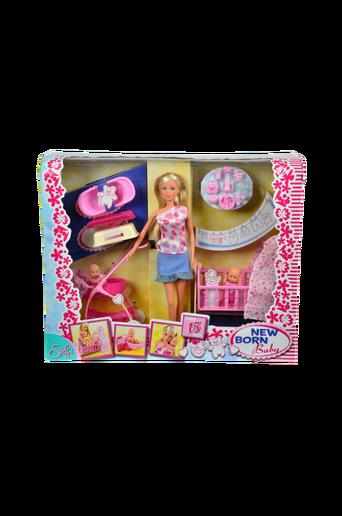 Steffi New Born Baby -nukkesetti