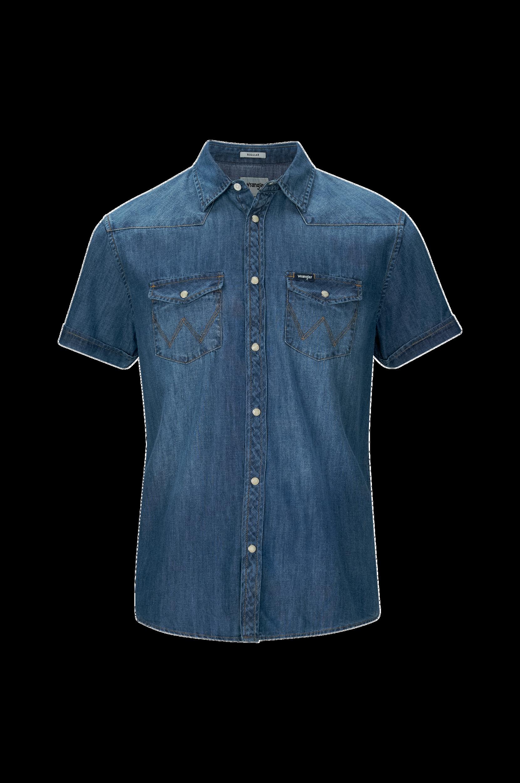 Wrangler SS Western Shirt -farkkupaita