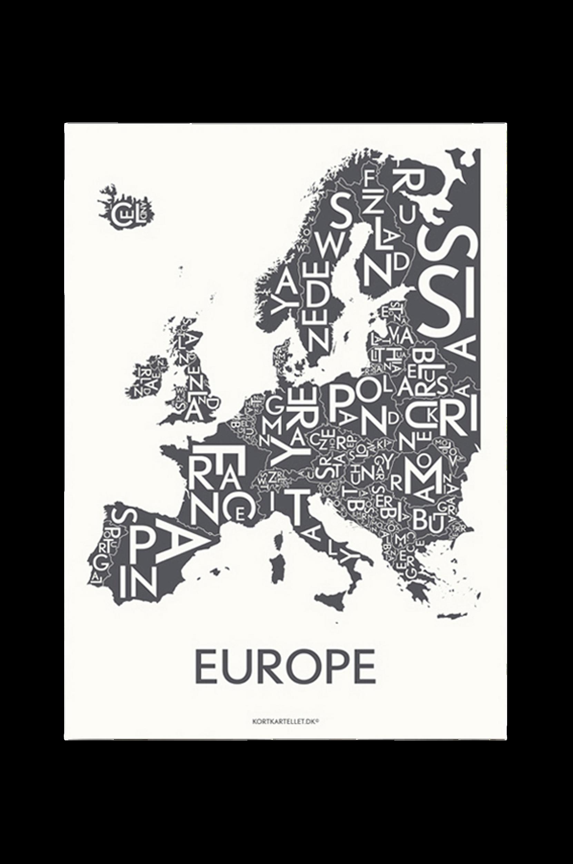 Europé-juliste 50x70 cm