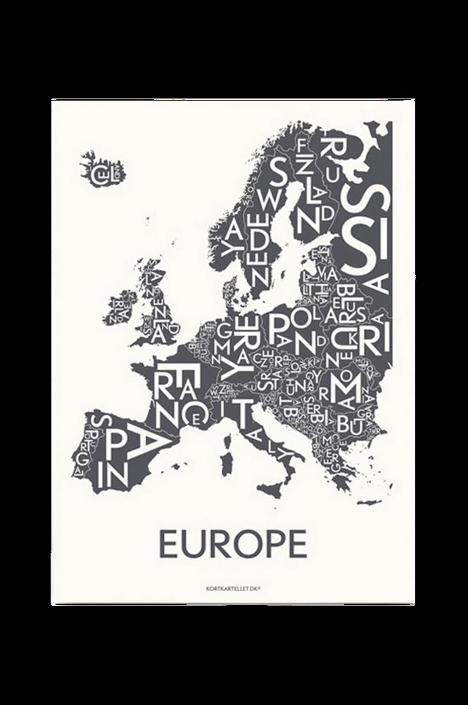 Poster Europé 50×70 cm