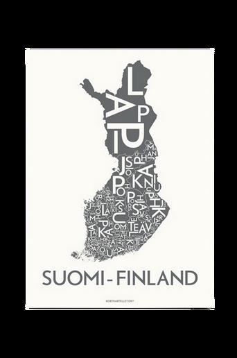 Suomi-Finland-juliste 50x70 cm