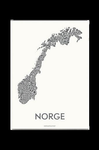 Norja-juliste 50x70 cm
