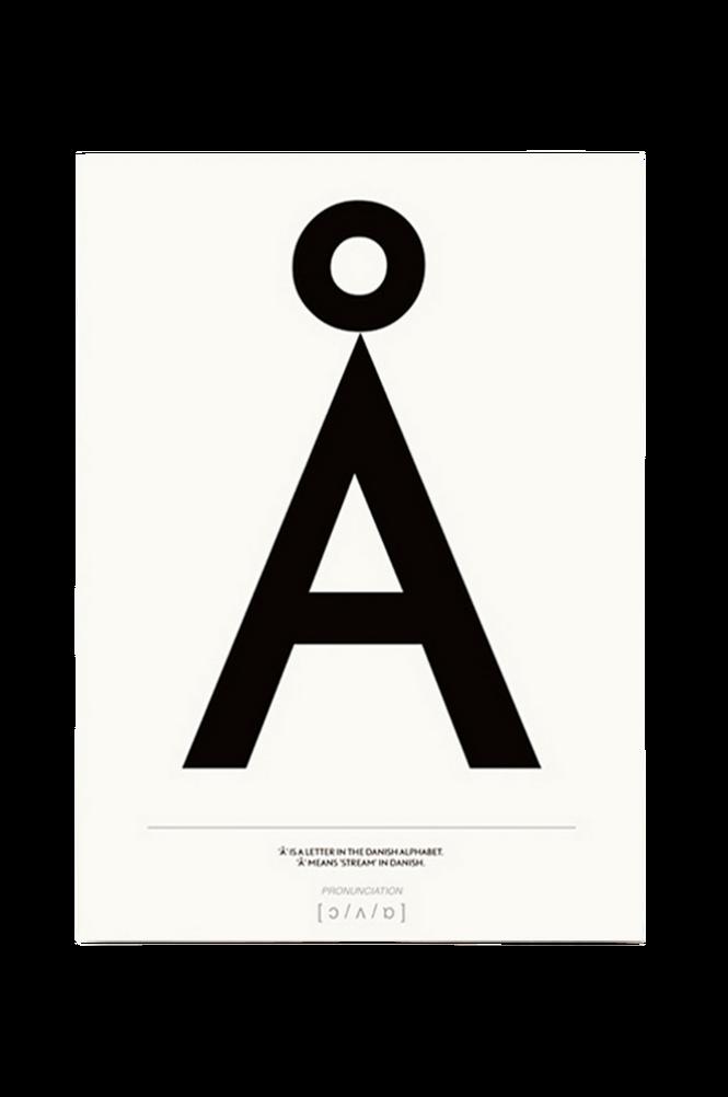 Poster Å 50×70 cm