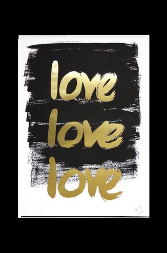 Love Love Love -juliste A3