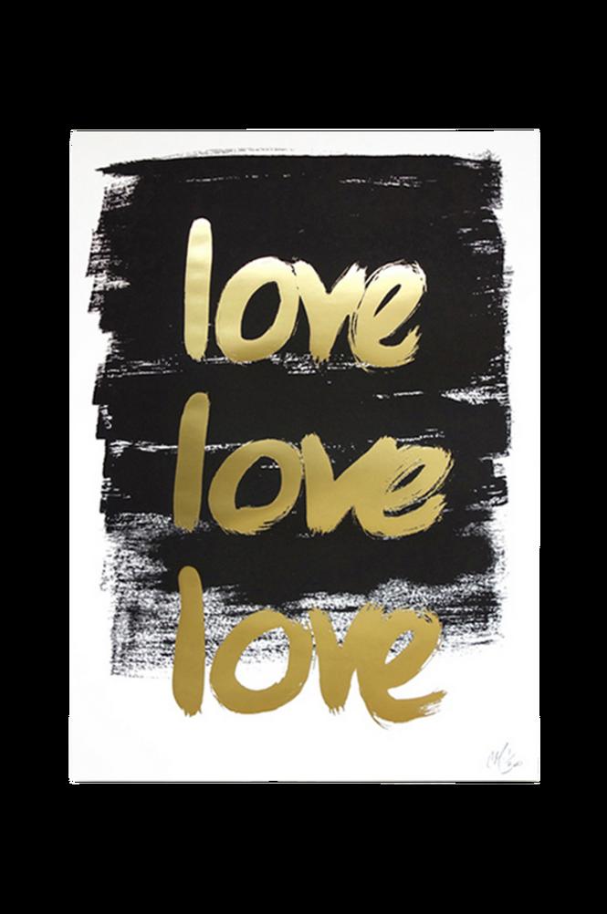 Poster Love Love Love A3