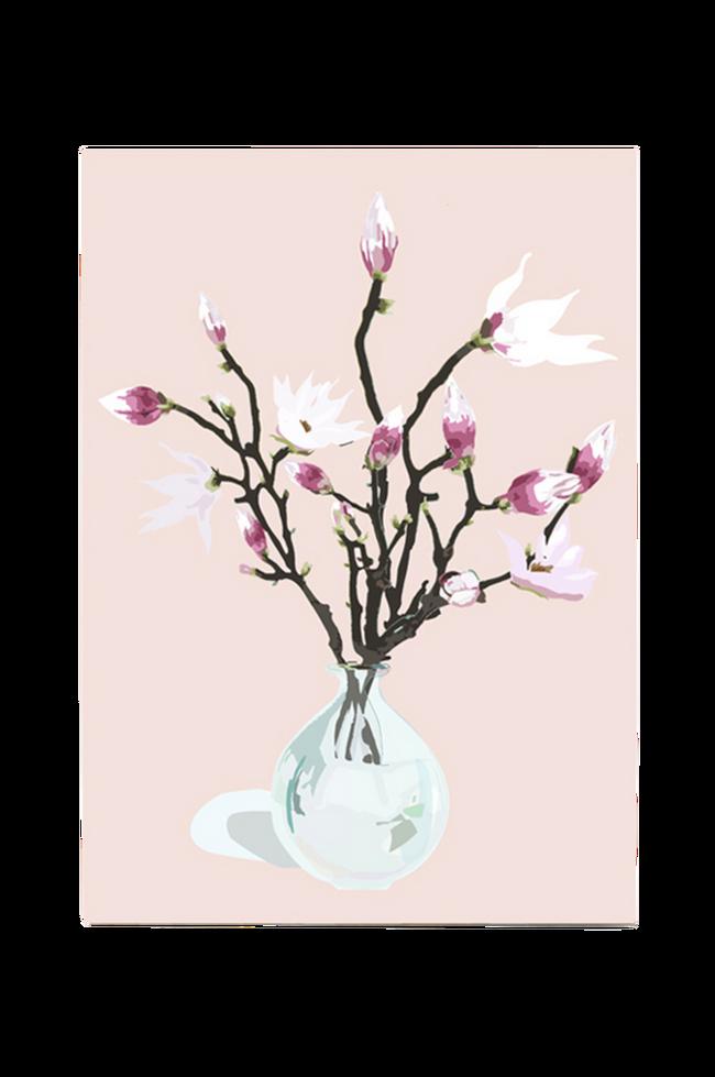 Bilde av Poster Magnolia Dusty Rose A3